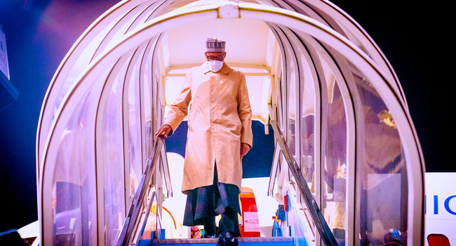 PDP Lampoons Buhari For Travelling To London For Virtual Meeting