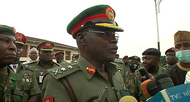 COAS Visits, Assures Wounded Soldiers In Kaduna Of Proper Care
