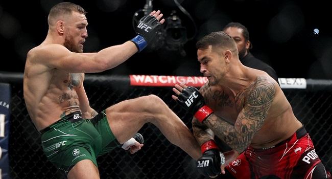 McGregor Suffers Horrific Leg Injury In TKO Loss To Poirier