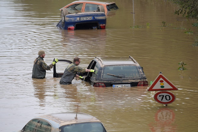 Germany Earmarks 30bn Euros To Rebuild After Floods