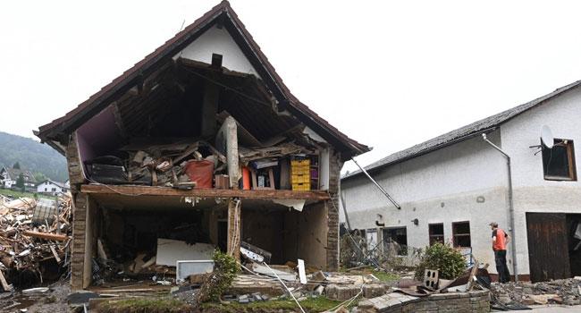 Merkel To Visit Flood-Ravaged Western Germany