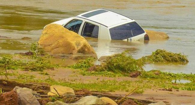 PHOTOS: Three Killed As Bridge Collapses In Bauchi