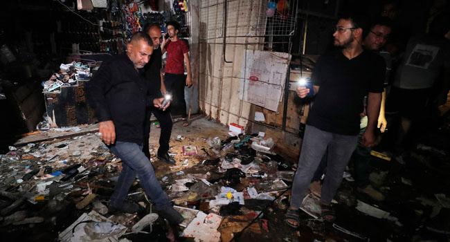 Iraq Market Blast Kills At Least 21, Injures 33