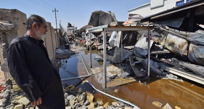 64 Dead As Fire Guts Iraq COVID-19 Ward