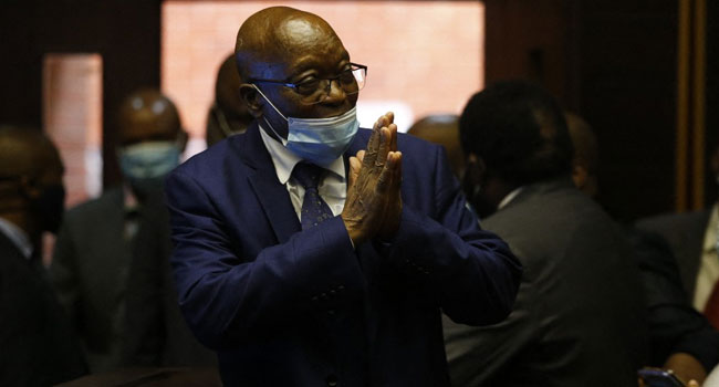 UPDATED: South Africa's Ex-President Zuma Goes To Jail