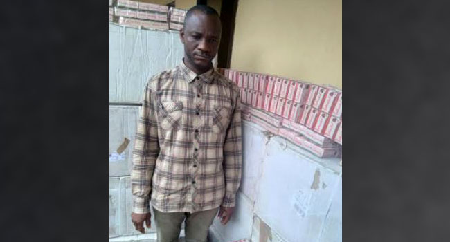 NDLEA Arrests Anambra Drug Kingpin Recovers 548,000 Tramadol Tablets