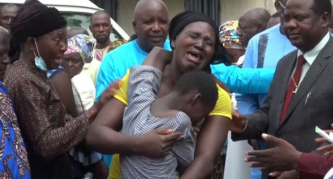 VIDEO: Tears, Joy As 28 More Kidnapped Students Regain Freedom In Kaduna