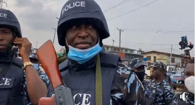 Yoruba Nation Rally: We Are Here To Ensure The Protest Is Not Hijacked by Hoodlums  – Lagos CP