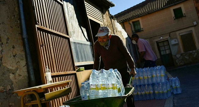 In Spain, Dozens Of Villages Struggle For Drinking Water