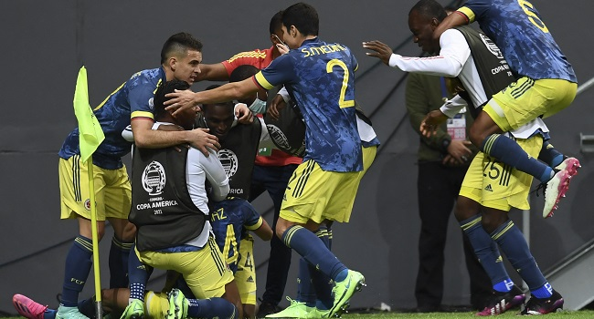 Copa America: Diaz Stunner Downs Peru To Give Colombia 3rd Place