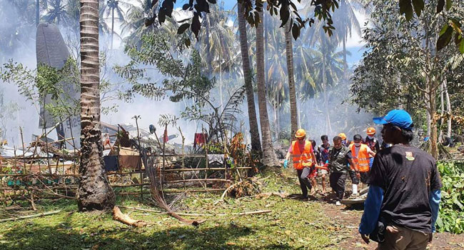 Death Toll Rises To 29 In Philippine Military Plane Crash