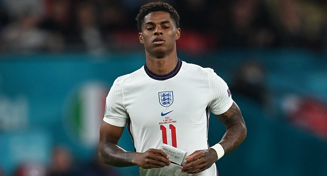 'Never Apologise For Who I Am' Says Rashford After Racist Abuse