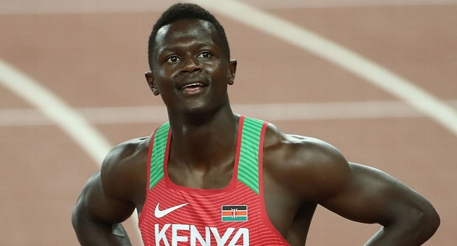 Kenyan Sprinter Barred From Olympics After Testing Positive