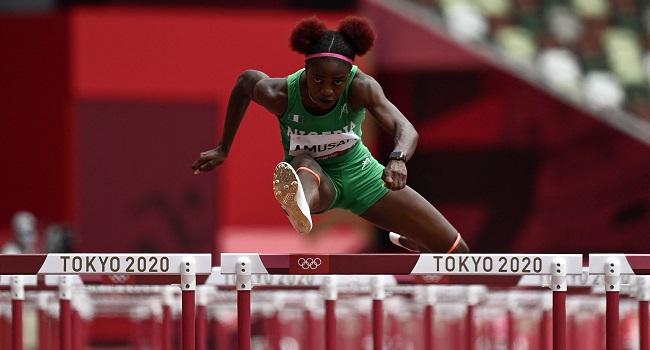 Olympics: Nigeria's Tobi Amusan Qualifies For Women's 100m Hurdles Semis