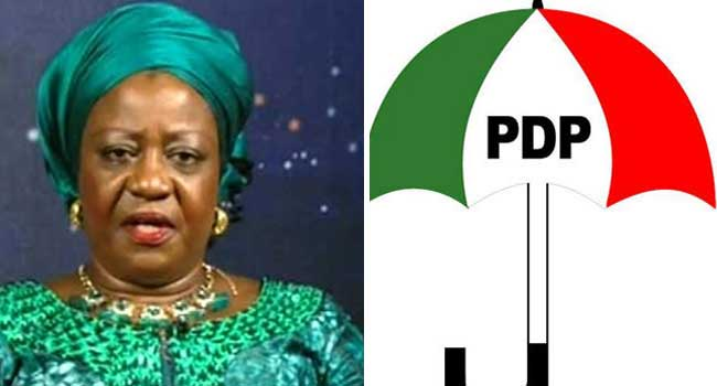 Lauretta Onochie: Senate's Rejection Is Victory For Nigerians, Says PDP