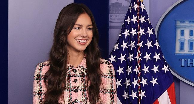 Pop Star Olivia Rodrigo Pushes Biden's Youth Vaccination Drive