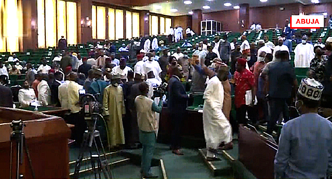 Reps In Disorder As Deputy Speaker Rules Against E-Transmission Of Electoral Results