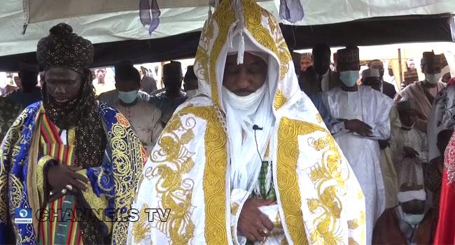 Former Emir Of Kano, Sanusi Leads Prayers In Kaduna