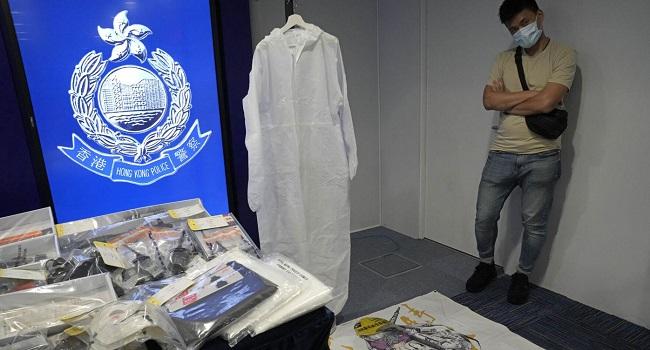 Six School Kids Among Nine Hong Kongers Arrested For 'Bomb Plot'