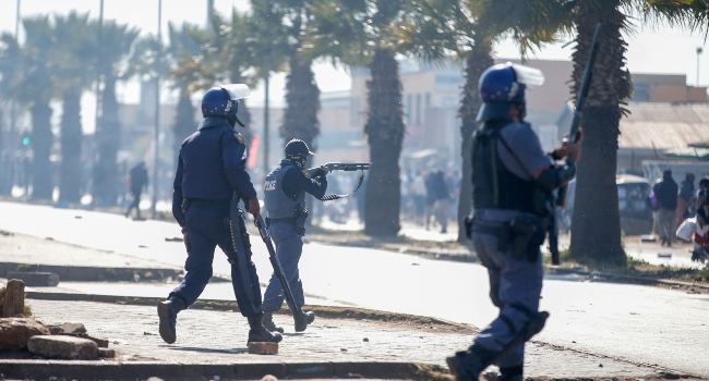 South Africa Deploys Troops As Unrest Spirals After Zuma Jailing