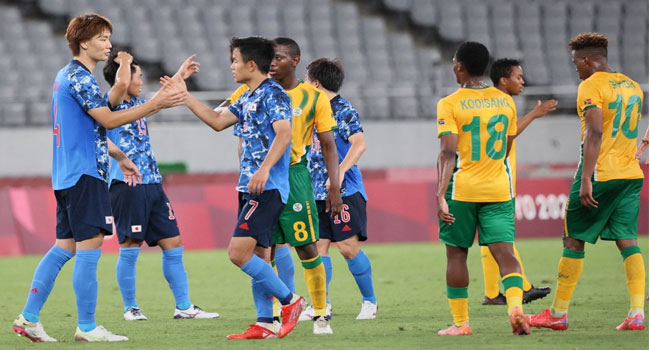 Japan Defeat South Africa In Olympic Football Opener