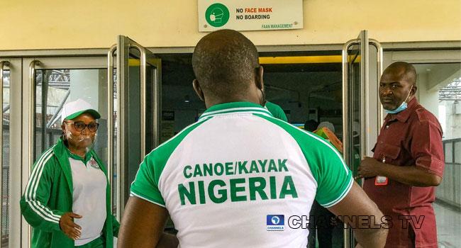 PHOTOS: Team Nigeria Heads To Tokyo Olympics