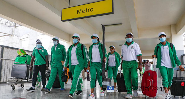 Olympics: Team Nigeria's First Batch Departs For Tokyo