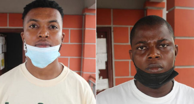 Court Sends Two Internet Fraudsters To Two Years In Prison
