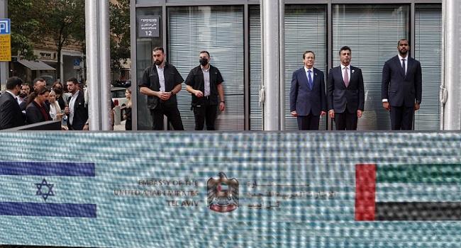 UAE Opens Israel Embassy After Normalisation Deal