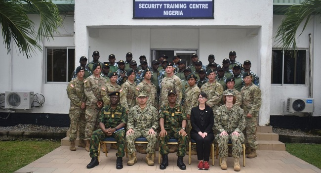 U.S. Army Special Forces Train Nigerian Navy On IEDs
