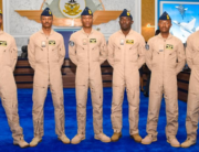 These six helicopter pilots were winged by the Nigerian Air Force on July 16, 2021.