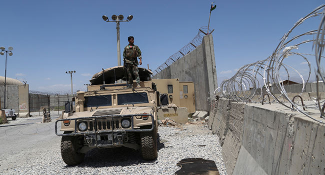 All US Troops Leave Afghanistan's Biggest Air Base