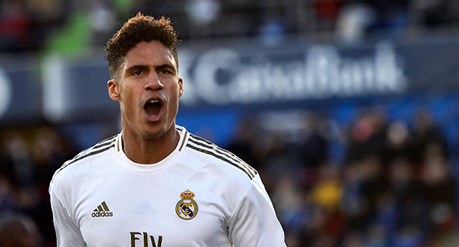 Man Utd Agree Deal To Sign Varane From Real Madrid