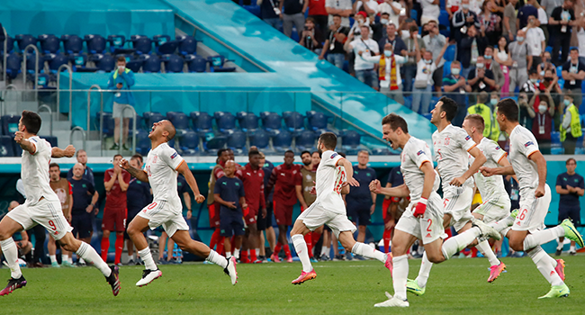 Spain Beat Switzerland On Penalties To Reach Euro 2020 Semi-Finals