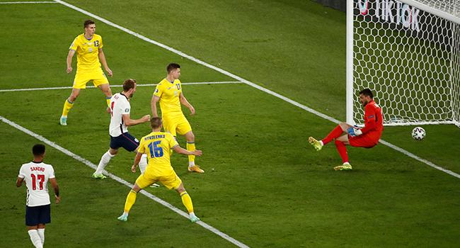 England Demolish Ukraine To Set Up Denmark Semi-Final In Euro 2020