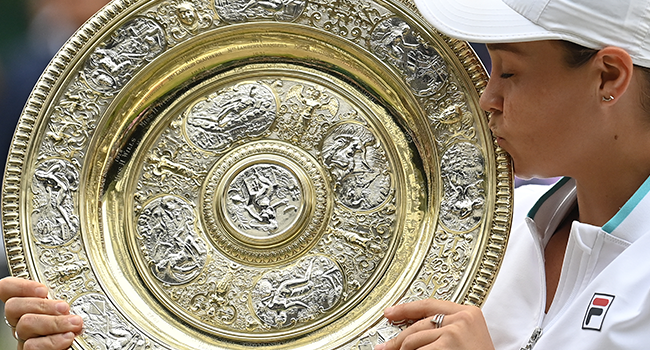 AshleighBarty Beats Pliskova To Win First Wimbledon Title