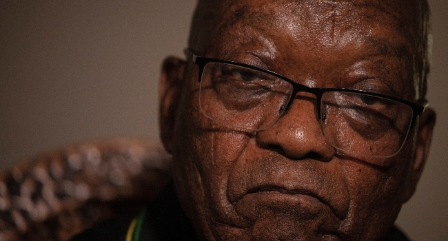 South Africa's Zuma Eligible For Parole In Under Four Months