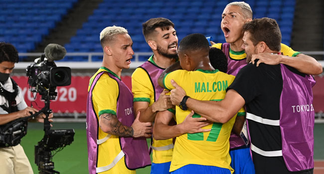Richarlison On Target As Brazil Beat Germany In Olympics