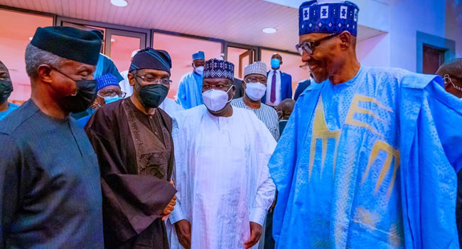 We Must Do EverythingTo End Insecurity, Buhari Tells NASS