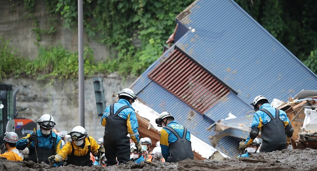 Survivor Window Closing In Japan Landslide, 24 Unaccounted For