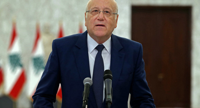 Lebanon's New PM Begins Bid To Form Much-Delayed Cabinet