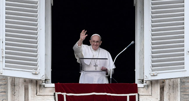 Pope Hopes Olympic Games Will Be 'Sign Of Hope' In Pandemic