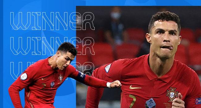 Cristiano Ronaldo Wins Top Scorer Trophy At UEFA EURO 2020
