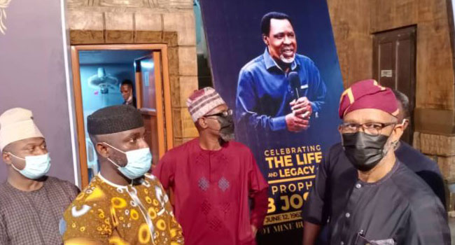 Prophet TB Joshua's Burial: LASG Inspects Facilities At SCOAN To Prevent  COVID Spread – Channels Television