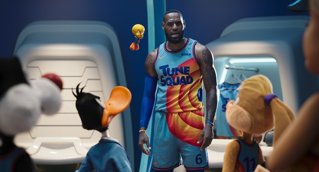 King Lebron Reigns Again As New 'Space Jam' Tops North America Box Office