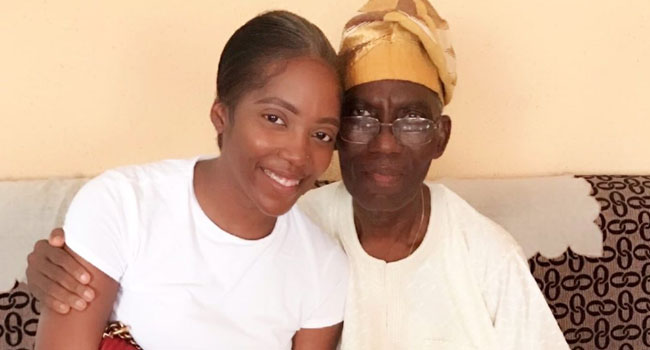 You Fought Till The End': Singer Tiwa Savage Loses Father – Channels  Television