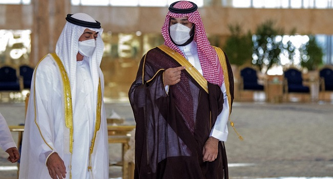 UAE, Saudi Leaders Meet After Public Spat On Oil Policy