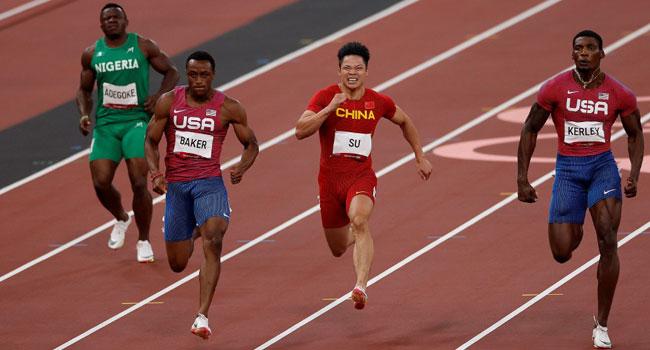 #Tokyo2020: Adegoke Fails To Finish As Italy's Lamont Jacobs Wins Men's 100m