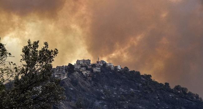 Algeria Combats Wildfires, Mourns Victims