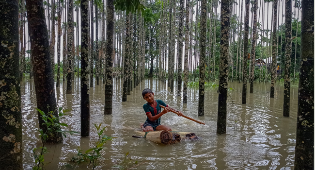 20 Killed, 300,000 Stranded In Flood-Hit Bangladesh Region